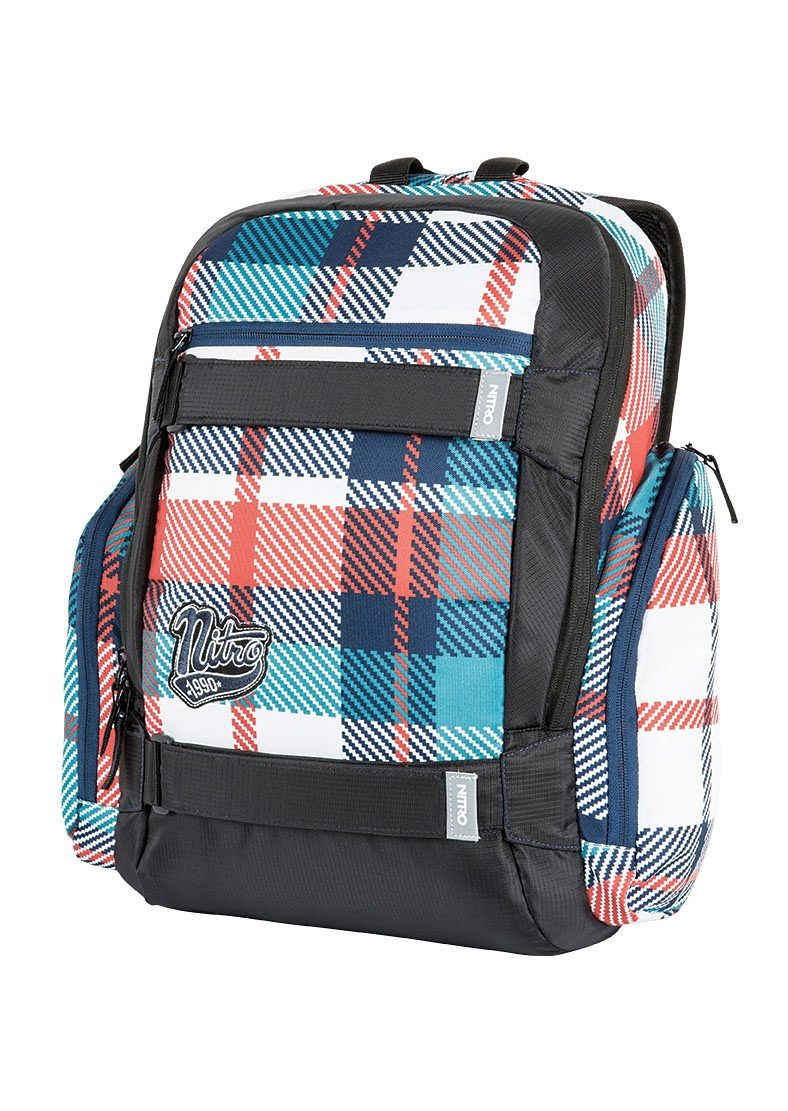 Nitro Schulrucksack, »Local - Meltwater Plaid«