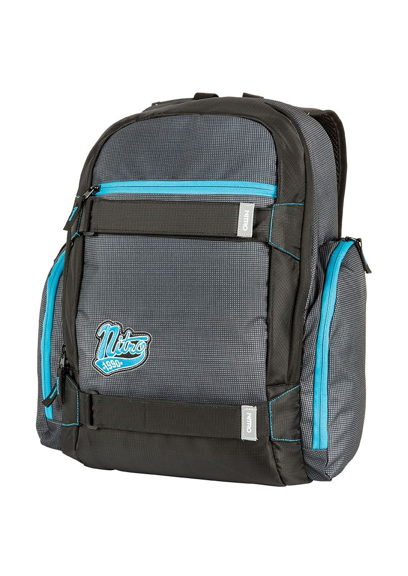 Nitro Schulrucksack, »Local - Blur Blue Trims«