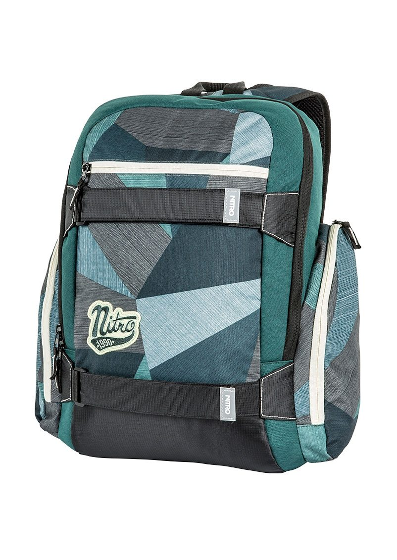 Nitro Schulrucksack, »Local - Fragments Green«