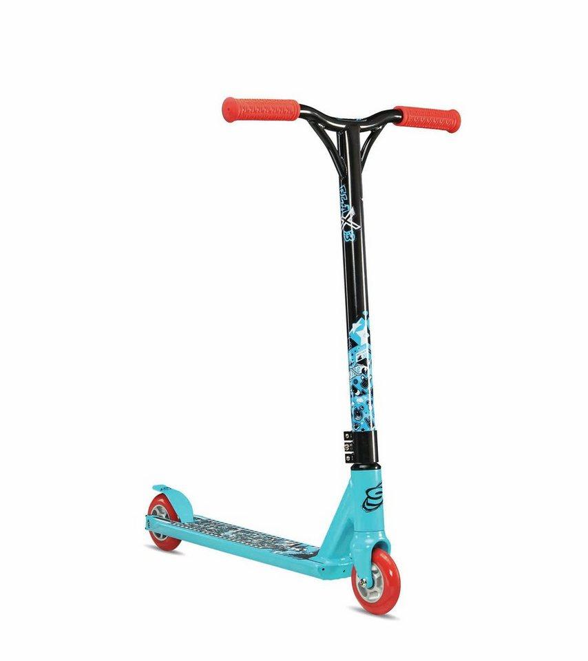 S'COOL Kinderfahrzeug »flaX 3 Stunt-Scooter« in blau