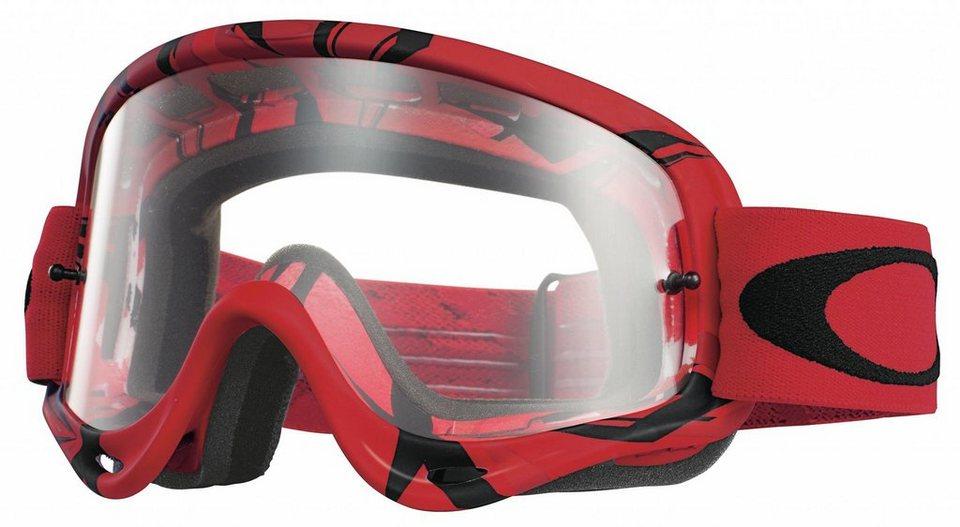 Oakley Radsportbrille »O Frame MX Goggle« in rot