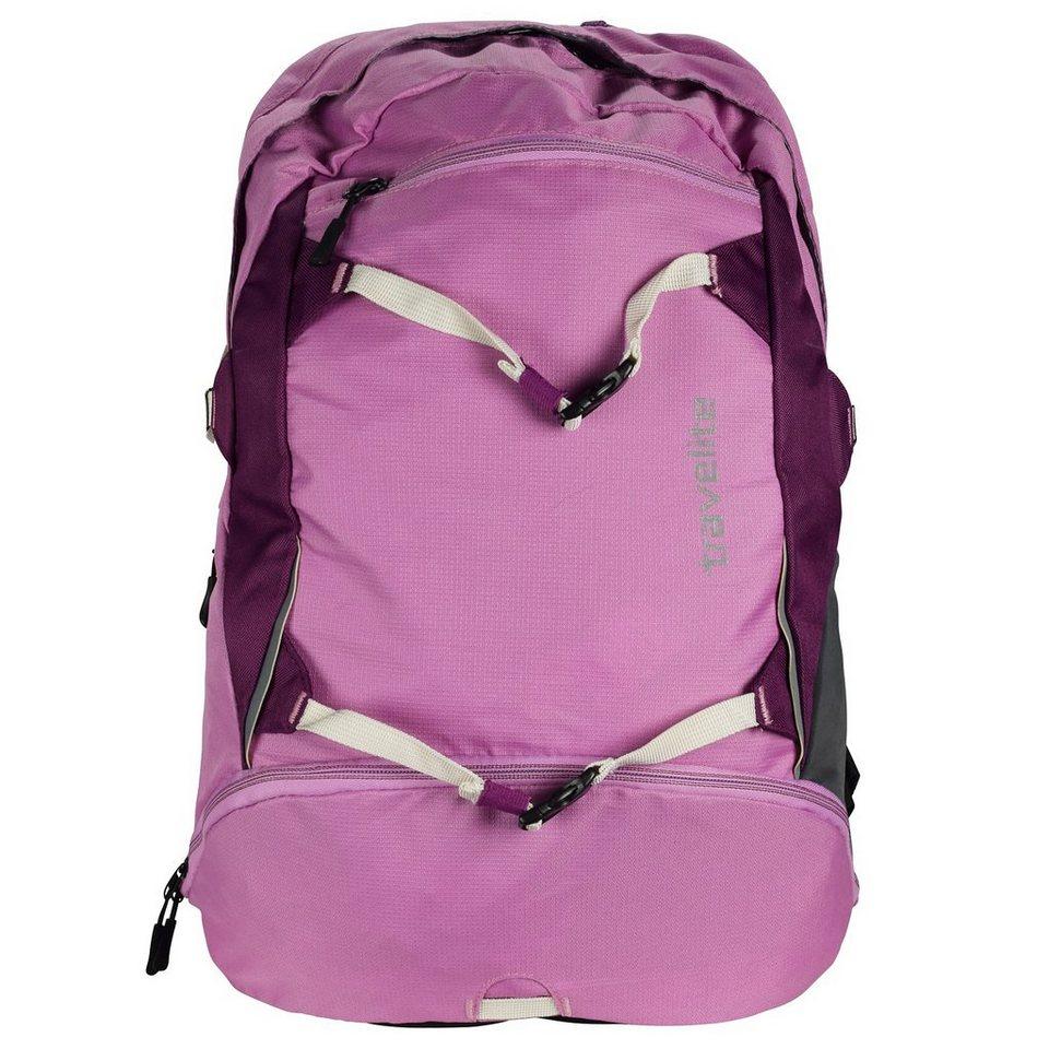Travelite Basics Rucksack 31 cm in fuchsia