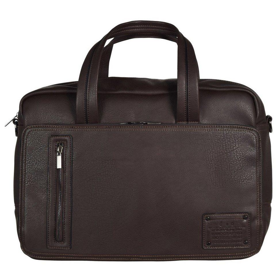 d & n Business Line Businesstasche 40 cm Laptopfach in braun