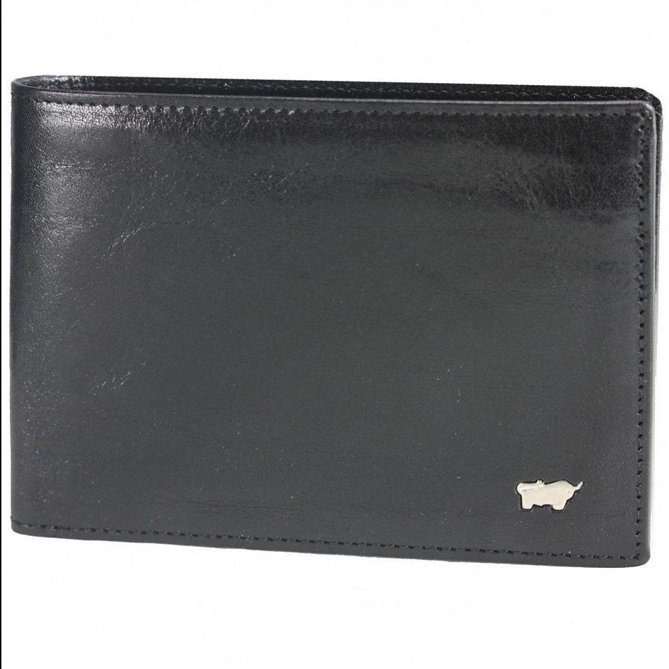 Braun Büffel Basic Geldbörse Leder 12,5 cm in nachtschwarz
