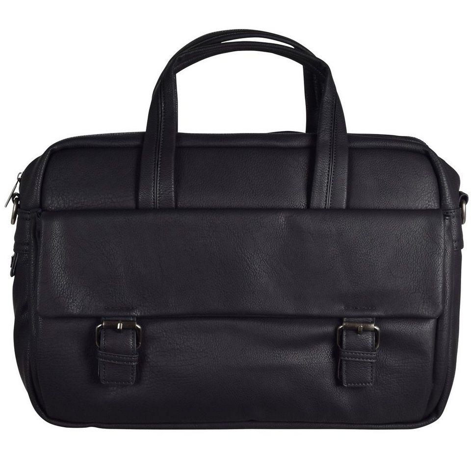 d & n Business Line Businesstasche 40 cm Laptopfach in schwarz
