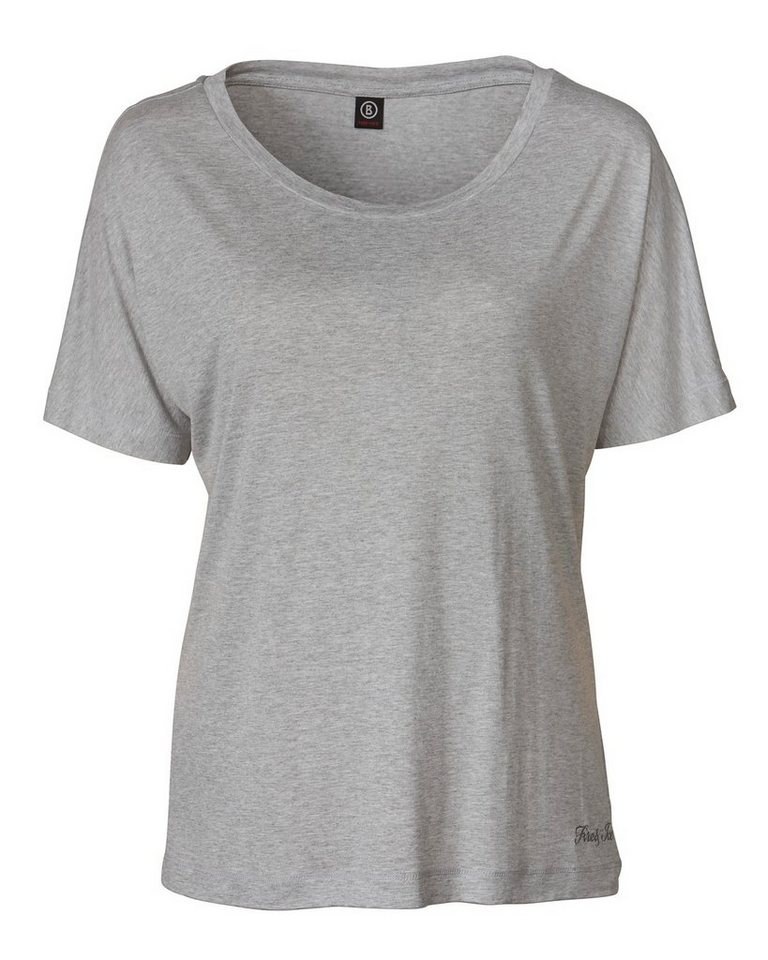 Bogner Fire + Ice Oversized-T-Shirt Felicita in Grau-Meliert