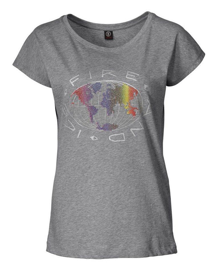 Bogner Fire + Ice T-Shirt Guidita in Grau
