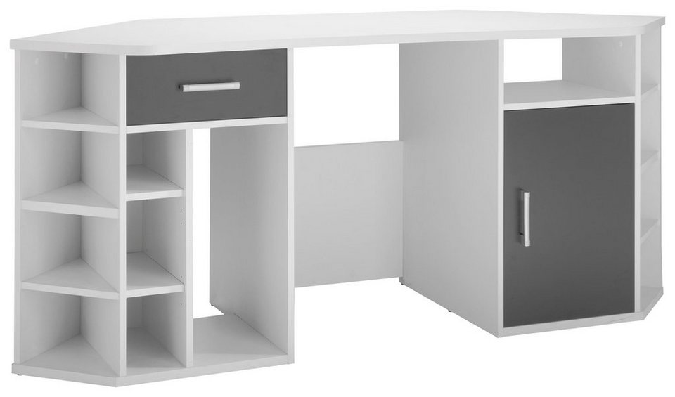 eck schreibtisch inter link fabri kaufen otto. Black Bedroom Furniture Sets. Home Design Ideas