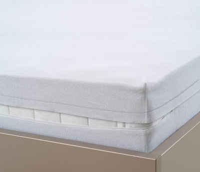 Matratzenschutzbezug »wasserundurchlässige Frottee-Matratzenhülle« Biberna