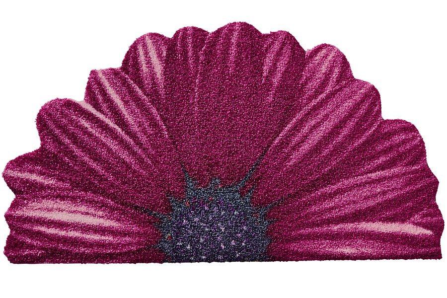 SALONLOEWE Fußmatte in pink