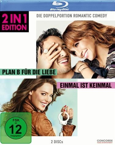 Blu-ray »Plan B für die Liebe / Einmal ist keinmal (2...«