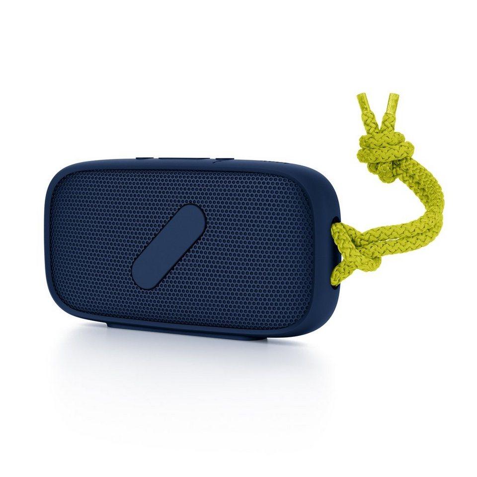NudeAudio Audiosystem »MOVE Super M Bluetooth Citrus« in gelb