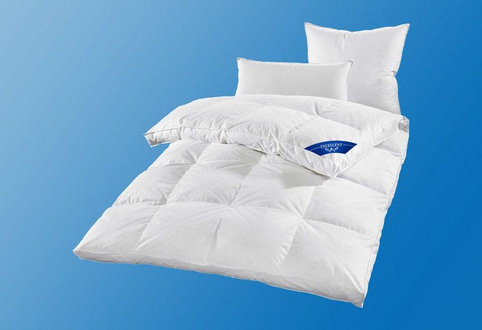Daunenbettdecke Excellent Premium, Extra Warm, 100% Gänsedaunen