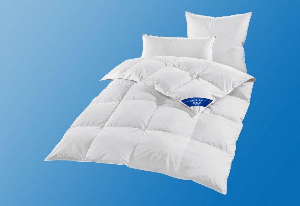 Bettdeckenset Excellent Premium, Normal, 100% Gänsedaunen