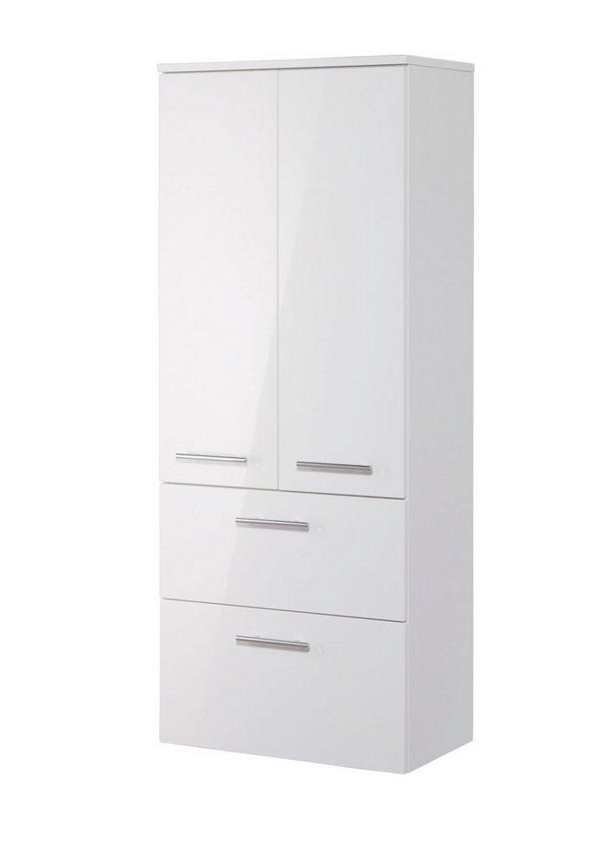 Optifit Midischrank »OPTIpremio 2043«, Breite 60 cm in weiß matt/weiß