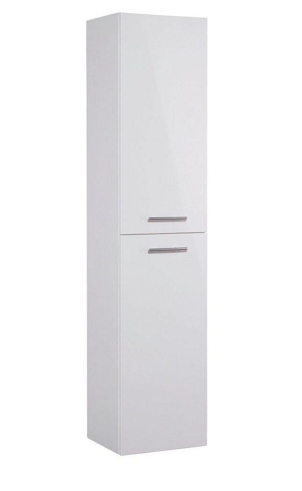 Hochschrank »OPTIpremio 2043«, Breite 40 cm in weiß/weiß matt