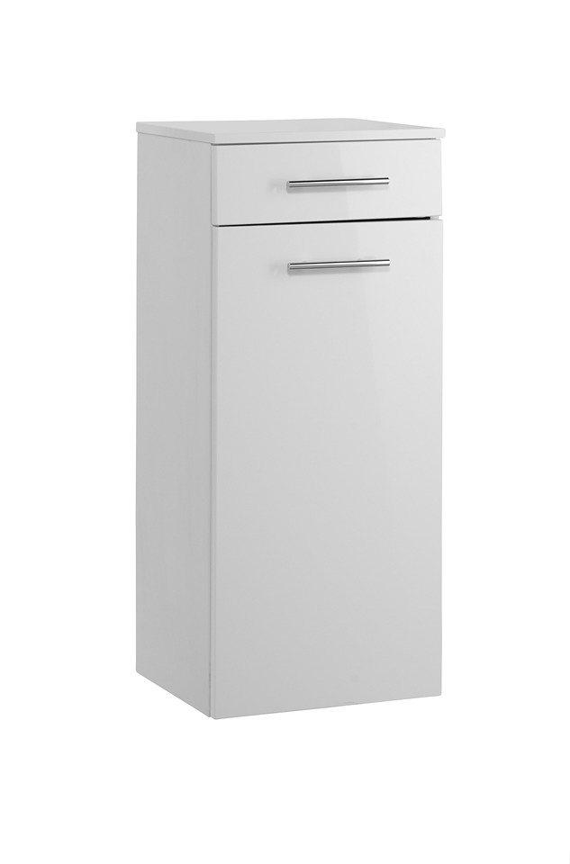 Unterschrank »OPTIpremio 2043«, Breite 40 cm in weiß matt/weiß