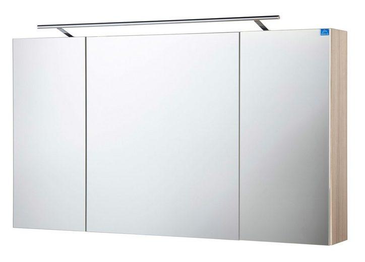 Optifit Spiegelschrank »OPTIpremio 2043« Breite 120 cm, mit LED-Beleuchtung