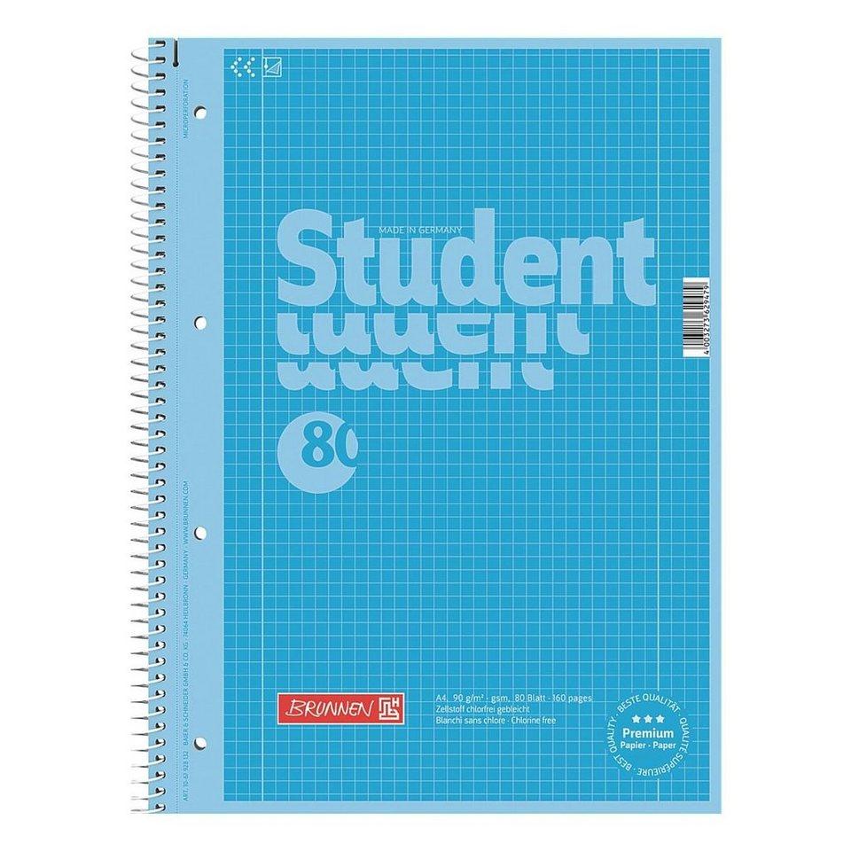 Brunnen Collegeblock »Colour Code« in blau