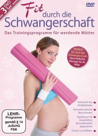 DVD »Fit durch die Schwangerschaft (3 Discs)«