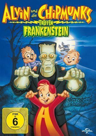 DVD »Alvin und die Chipmunks treffen Frankenstein«