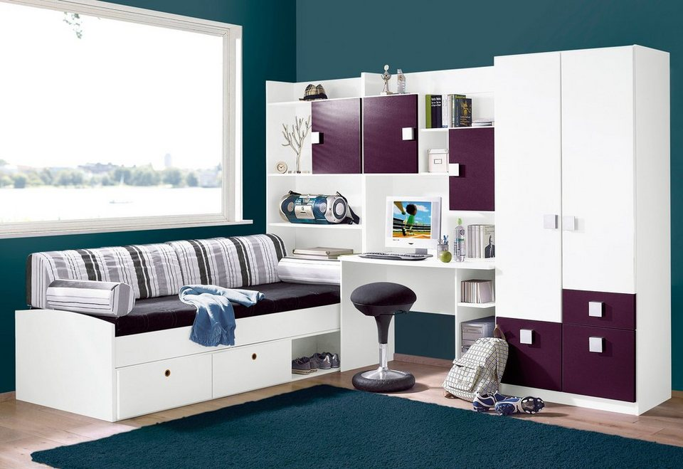 30 tolle jugendzimmer ideen und tipps f r kleine r ume. Black Bedroom Furniture Sets. Home Design Ideas