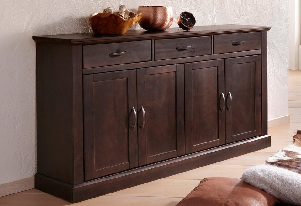 sideboard home affaire breite 158 cm kaufen otto. Black Bedroom Furniture Sets. Home Design Ideas