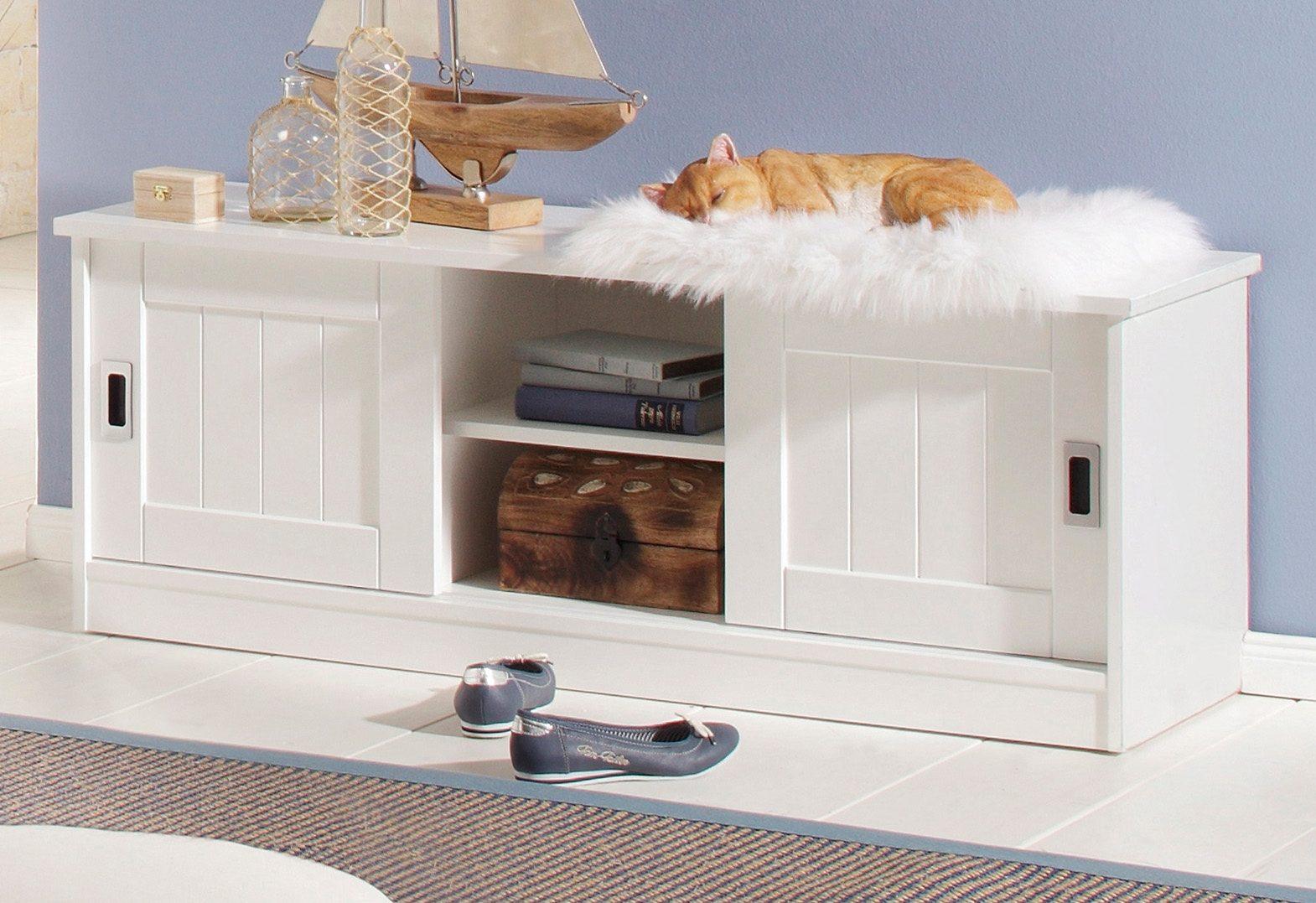 Sitzbank, Home affaire, Breite 122 cm, »Nekso«