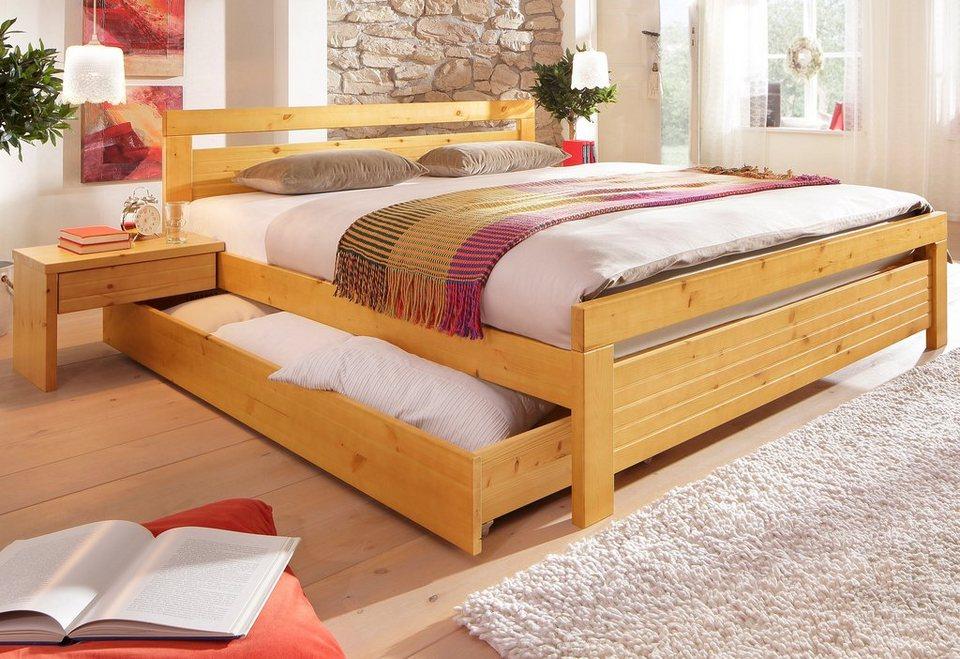 Home affaire bett cari online kaufen otto - Tapeten schlafzimmer schoner wohnen ...
