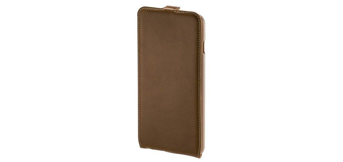 Hama Flap-Tasche Guard Case für Apple iPhone 6 Plus, Braun/Natur