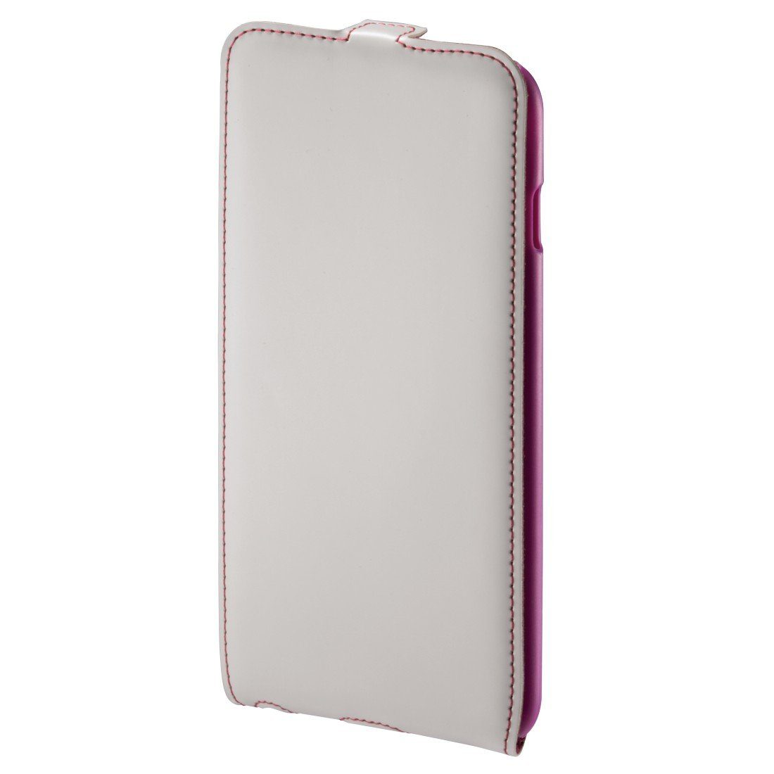 Hama Flap-Tasche Guard Case für Apple iPhone 6 Plus, Weiß/Pink