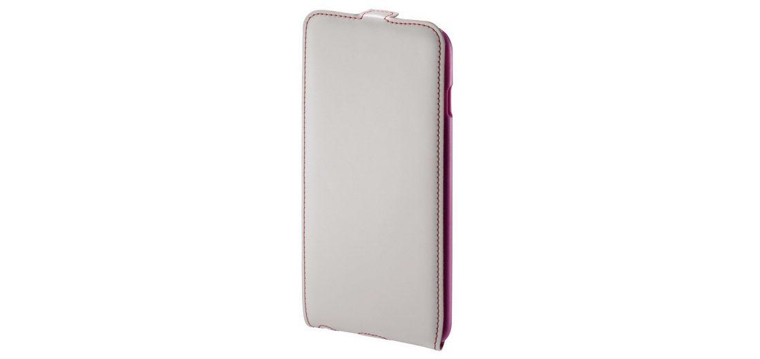 Hama Flap-Tasche Guard Case für Apple iPhone 6 Plus, Weiß/Pink