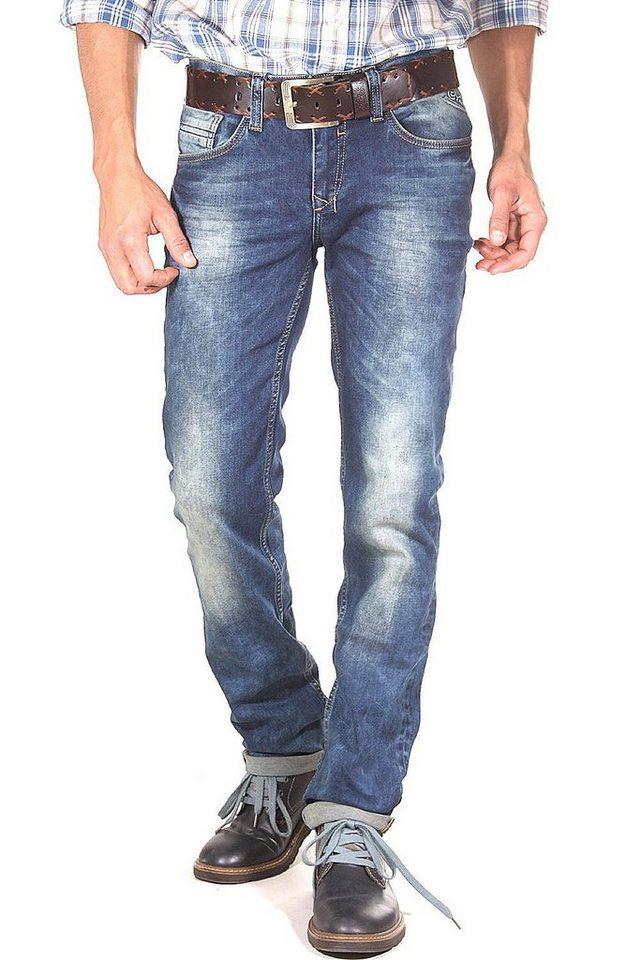 R-NEAL Jeans slim fit in blau