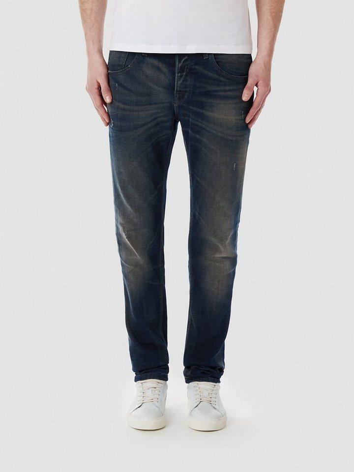 Selected Blaue Slim Fit Jeans in Dark Blue Denim