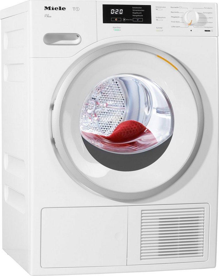 MIELE Trockner TMB 640 WP, A++, 8 kg in weiß