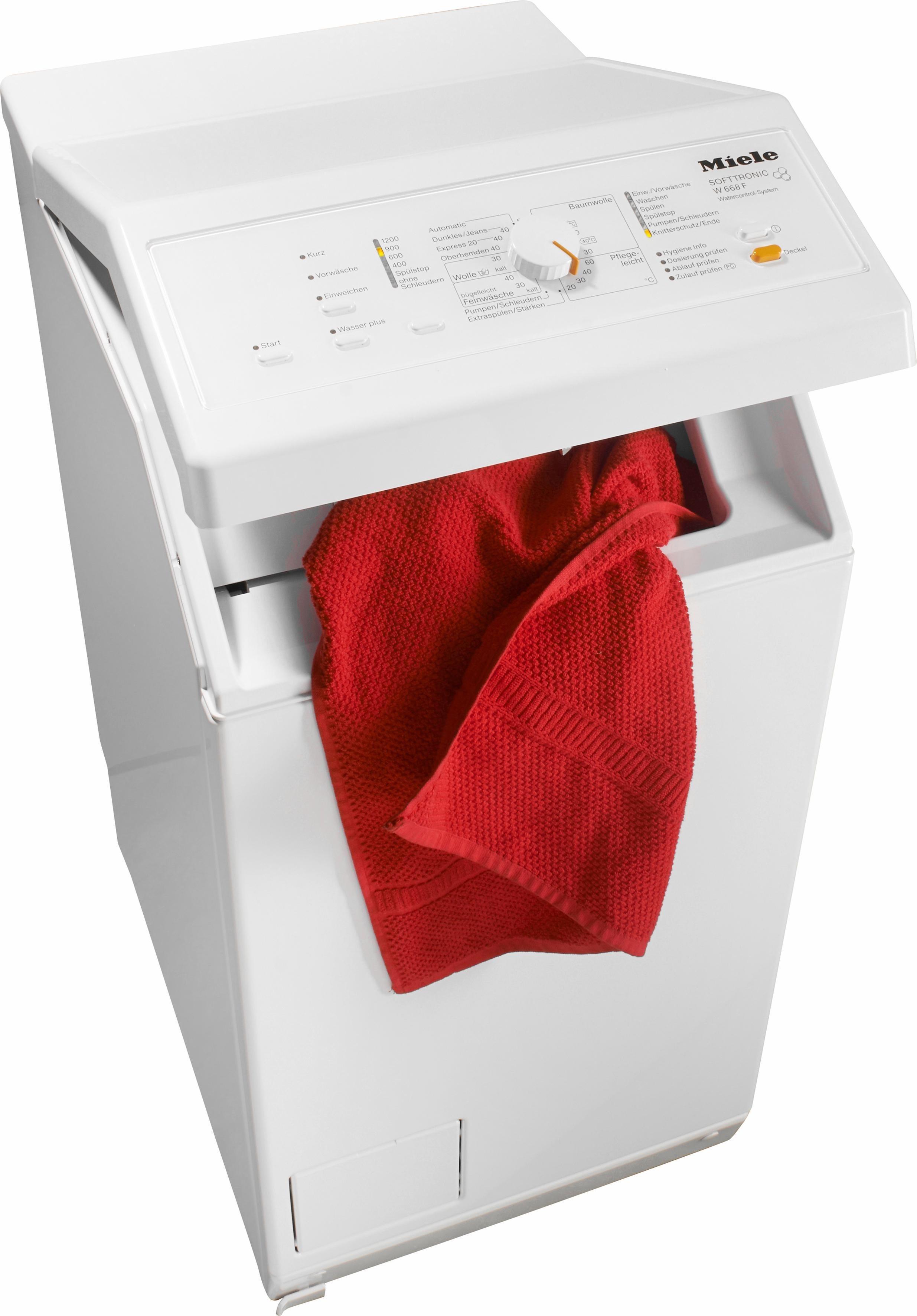 Waschmaschine Toplader W 668 F WCS, 6 kg, 1200 U/Min
