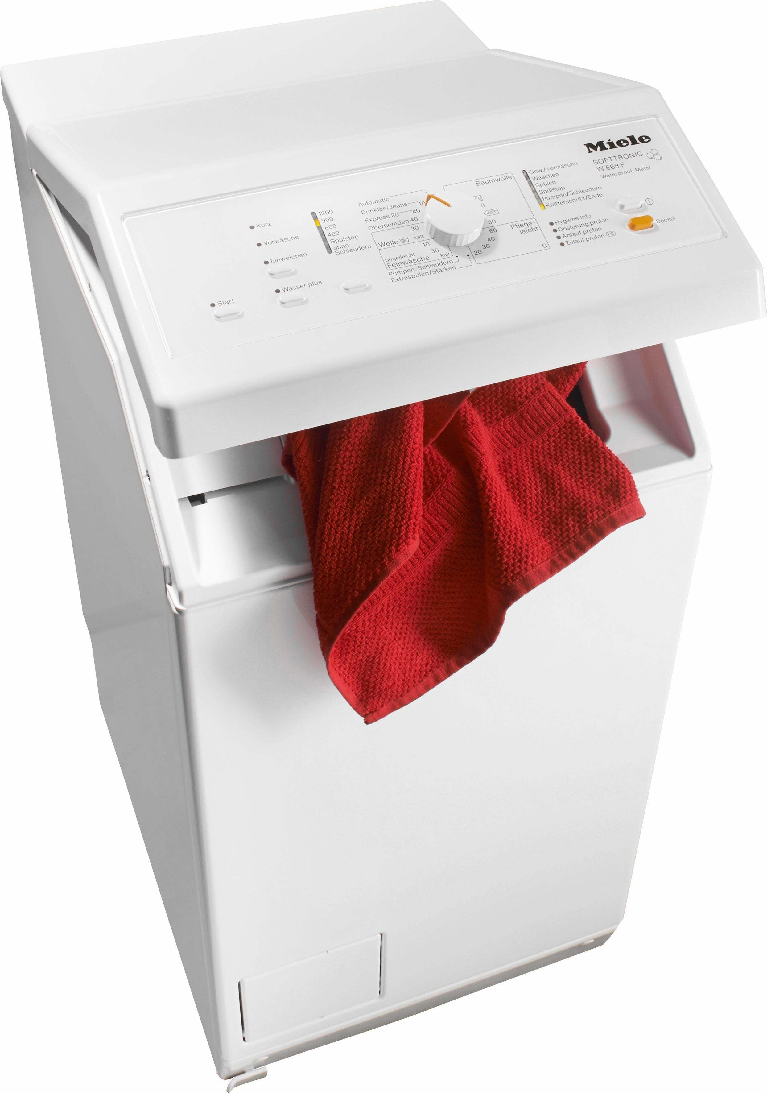 Waschmaschine Toplader W 668 F WPM, 6 kg, 1200 U/Min