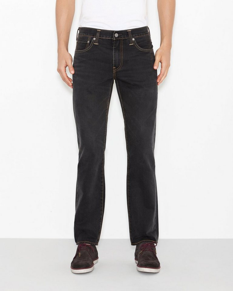 Levi's® Jeans »504™ Regular Straight Jeans« in Silver Cast