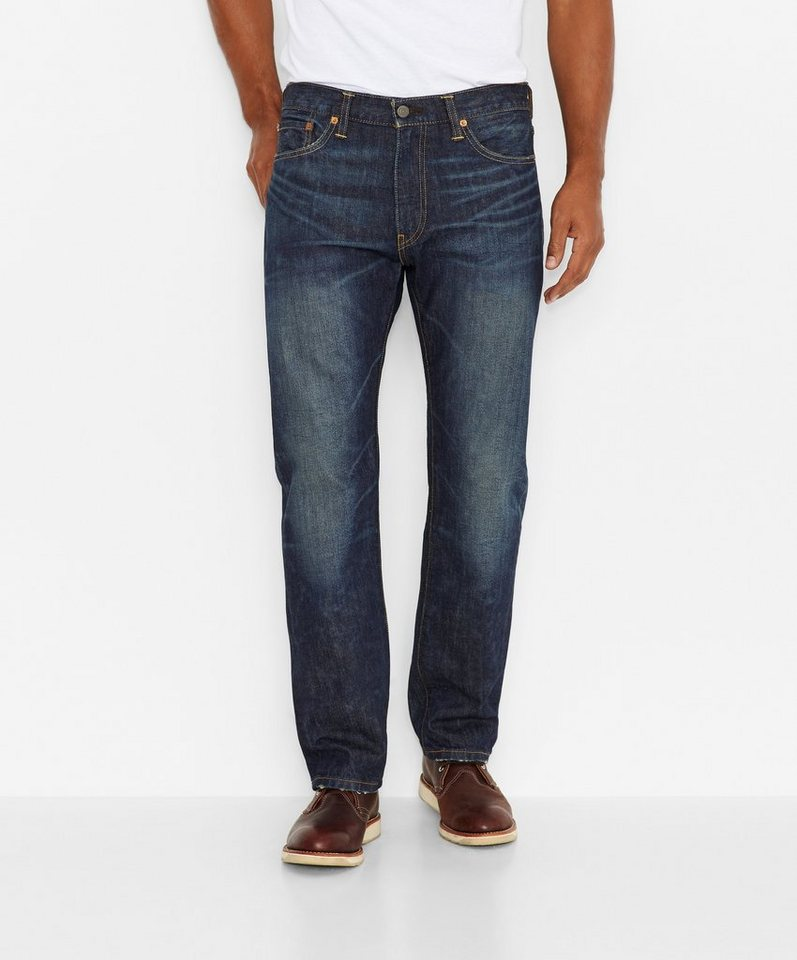 Levi's® Jeans »504™ Regular Straight Jeans« in Sixth Fog