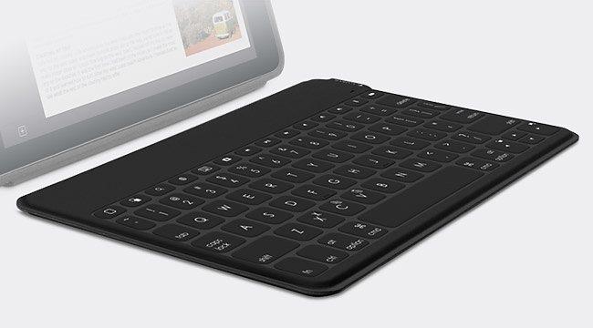 Logitech iPad Zubehör »Keys-To-Go für Apple schwarz 920-006704«