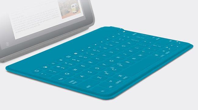 Logitech iPad Zubehör »Keys-To-Go für Apple blau - 920-006876«