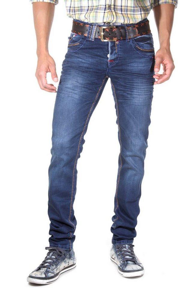 R-NEAL Jeans (stretch) slim fit in blau