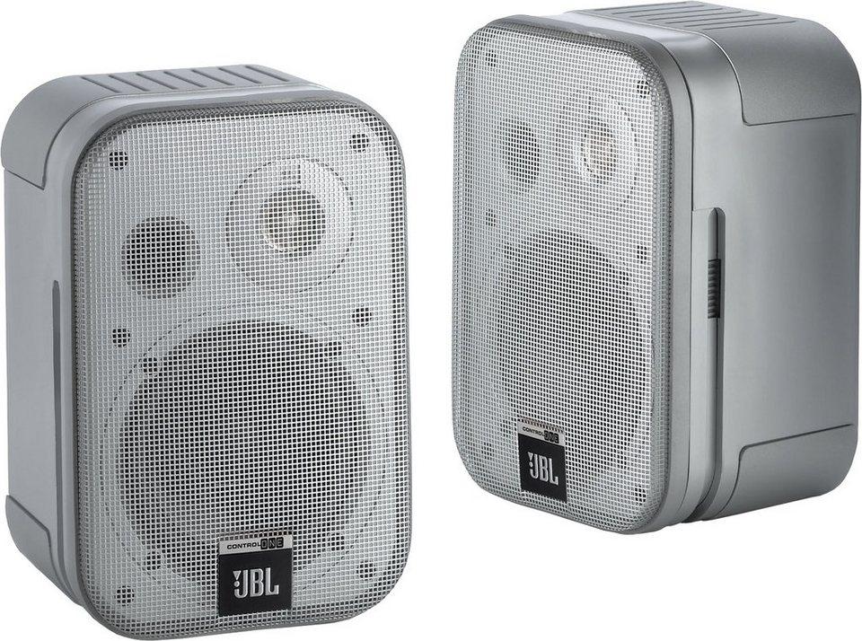 JBL Control One Lautsprecher-Set (1 Paar) in silberfarben