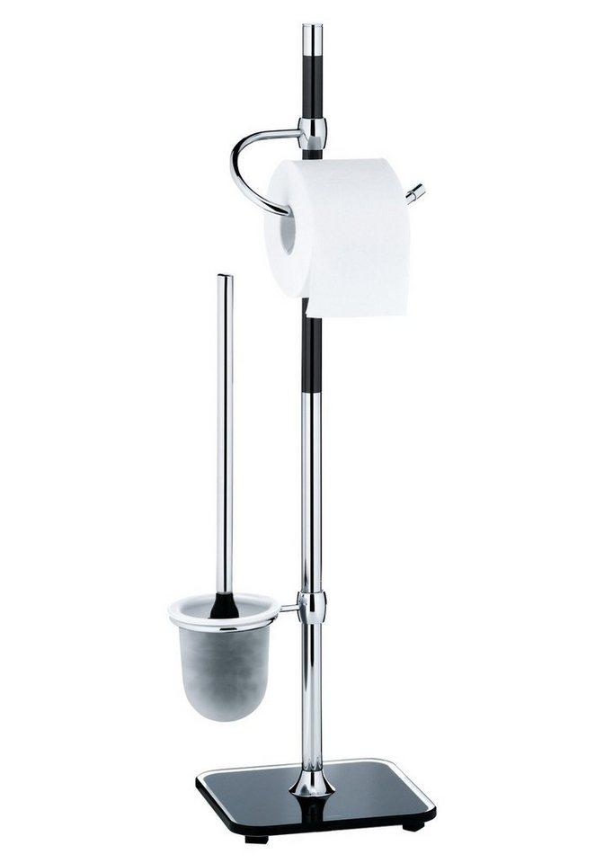 WC-Garnitur »Biago« in silberfarben
