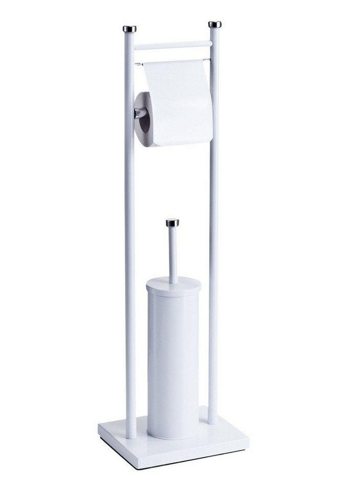 WC-Garnitur in weiß