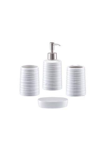 ZELLER PRESENT Zeller Vonios priedų rinkinys »Aqua« 4...