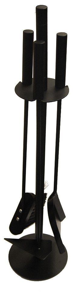 Kaminbesteck »Eisen«, Set 3 tlg. in schwarz