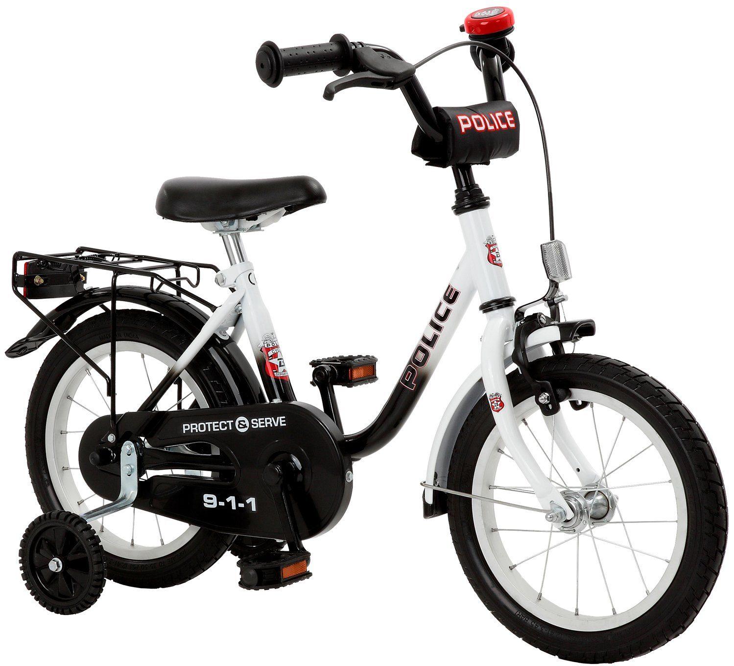 Cycles4Kids Kinderfahrrad »Police, 35,6 cm (14 Zoll)«
