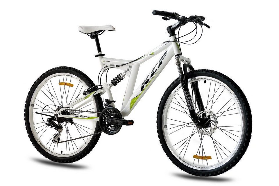 Mountainbike »Rooster, 66,04 cm (26 Zoll)« in weiß