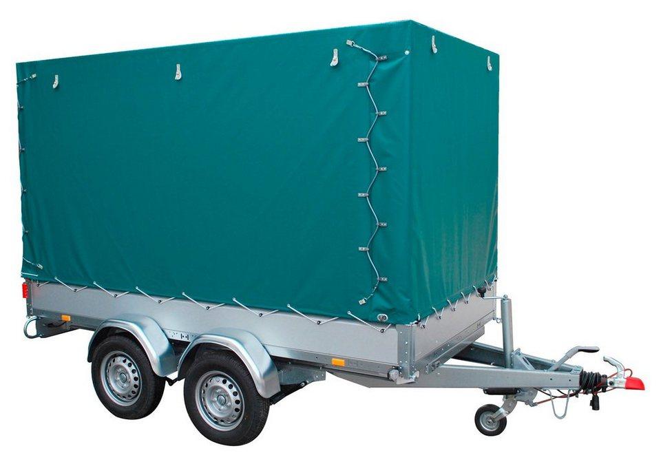 stema set pkw anh nger mit plane basic st 2000 30 15 2 zweiachser online kaufen otto. Black Bedroom Furniture Sets. Home Design Ideas
